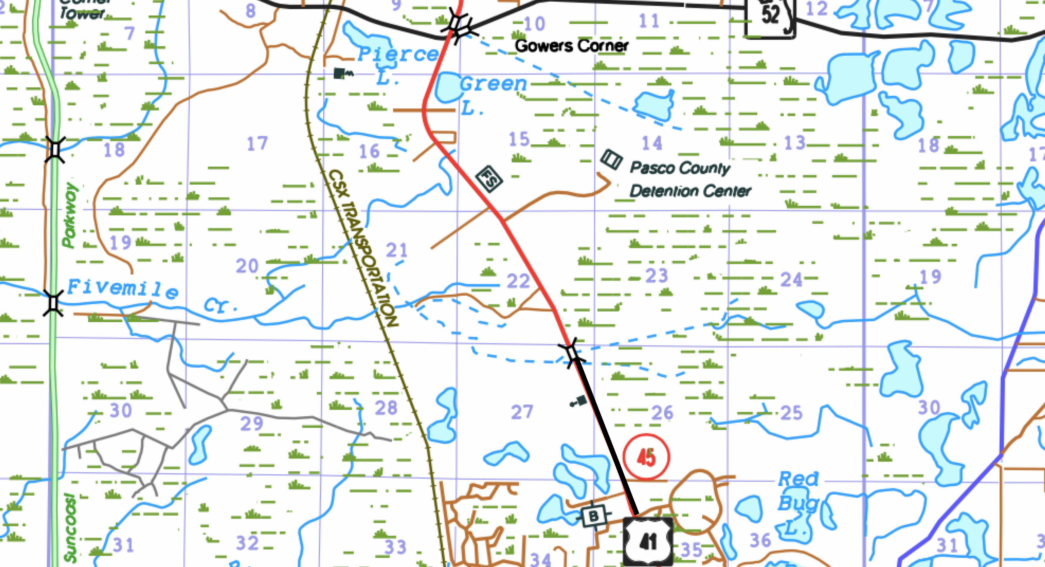 fdot right of way maps with Us 41 Sr 45 From North Of Connerton Boulevard To South Of Sr 52 on AccountPermits moreover AccountPermits as well AccountPermits as well Right of way relocation likewise AccountPermits.